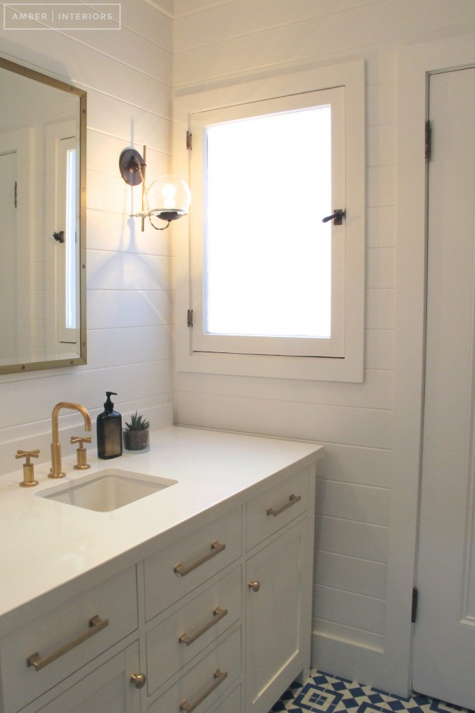 Before Amp After Guest Bathroom Remodel Amber Interiors