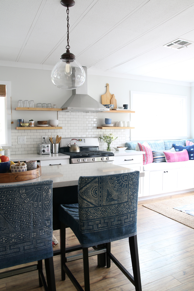 kitchen remodel with breakfast nook