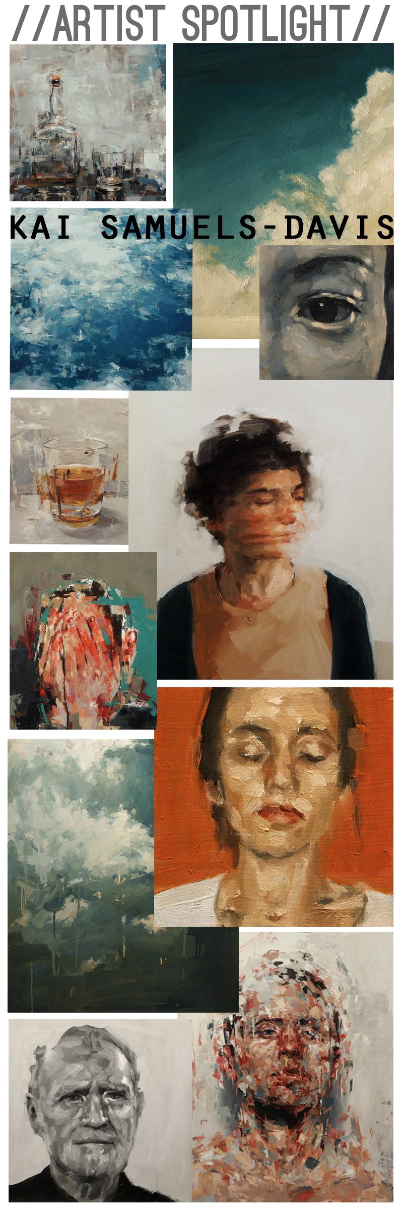 Artist Kai Samuels-Davis