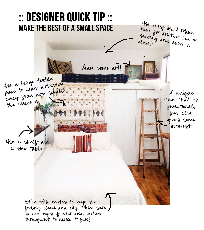 Make the Best of a Small Space