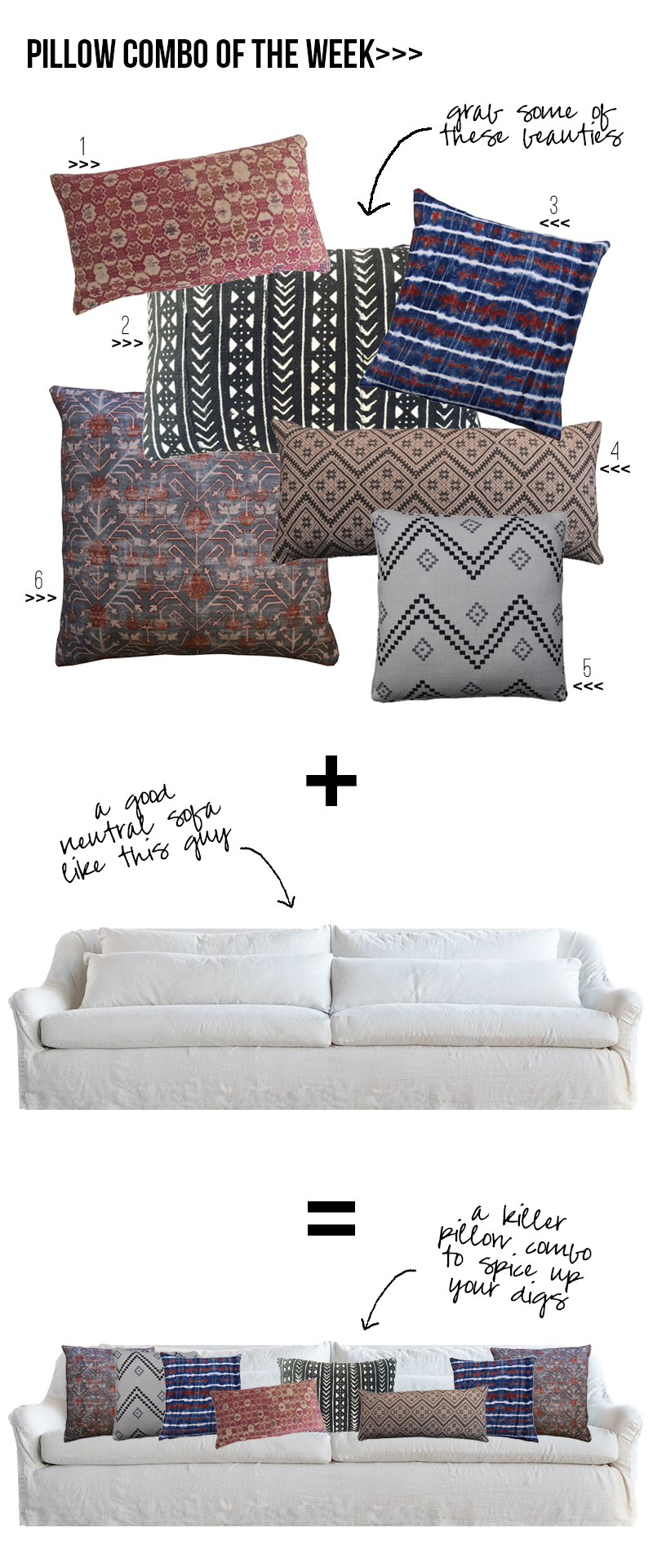 Amber Interiors - Pillow Combo of the Week 3.6