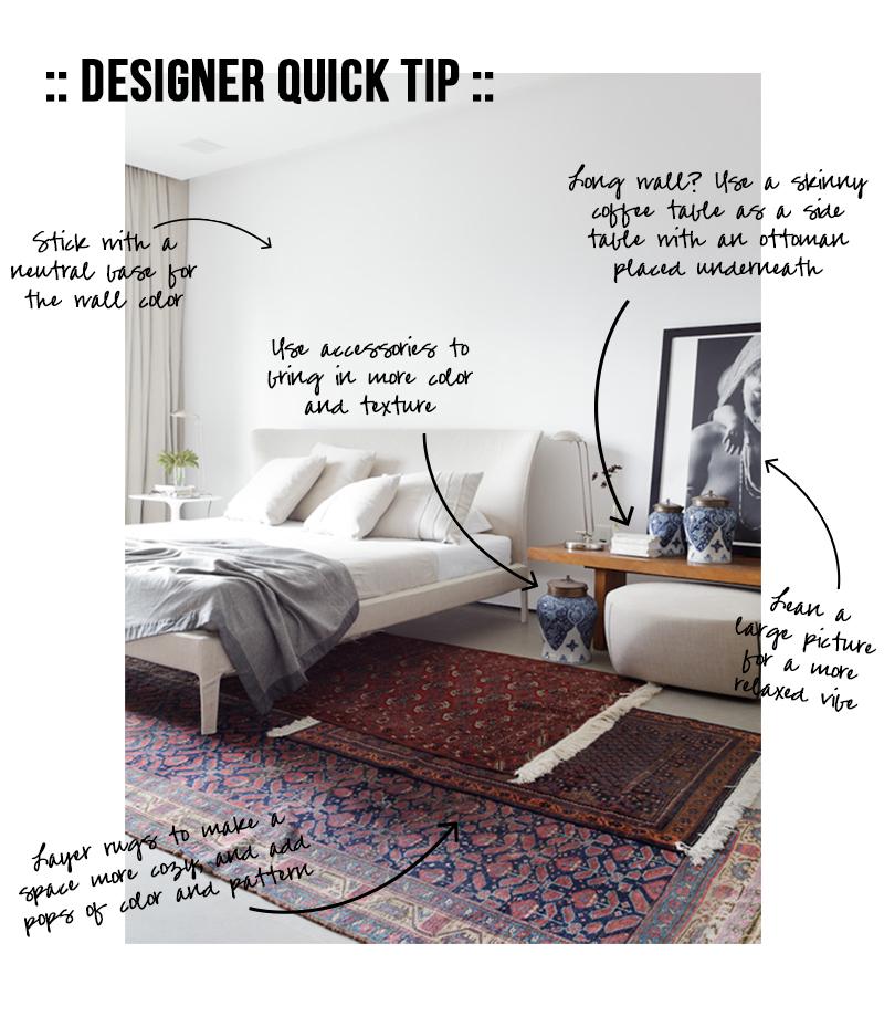 Amber Interiors - Designer Quick Tip - Rugs