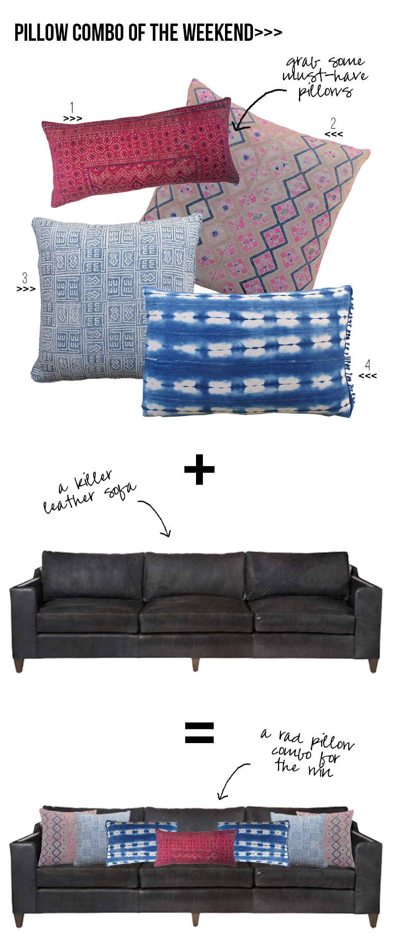 Amber Interiors - Pillow Combo of the Weekend 4.3