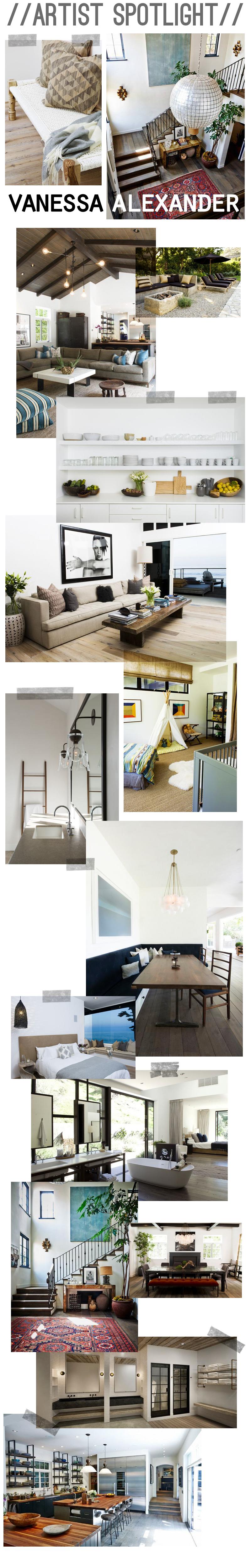 Amber Interiors - Artist Spotlight - Vanessa Alexander