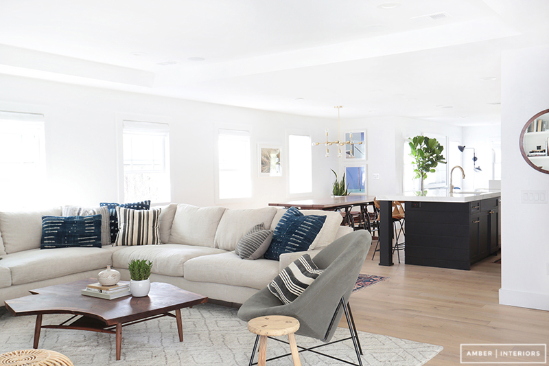 Amber Interiors - Client Freakin Fabulous - Neustadt 17 : restoration hardware sectional sofa - Sectionals, Sofas & Couches