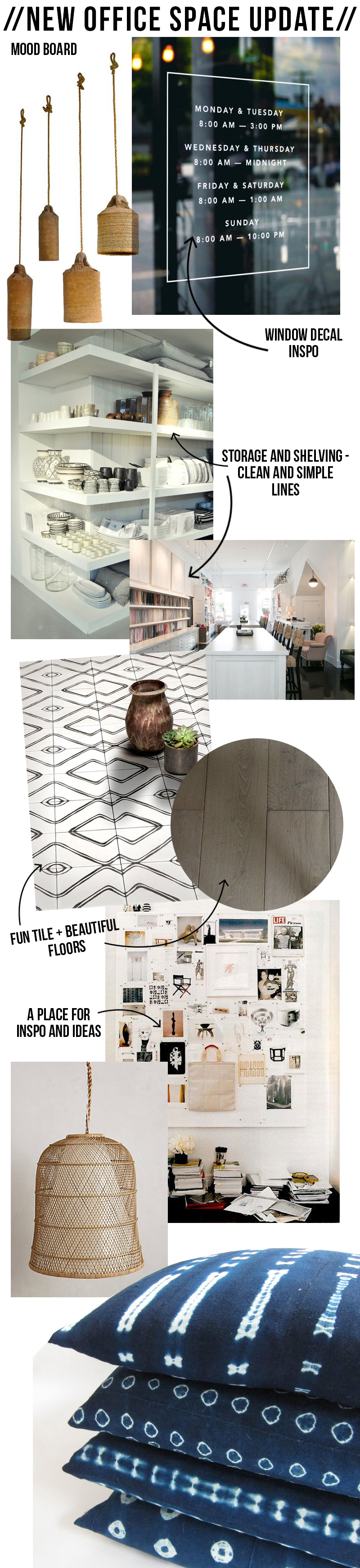 Amber Interiors - New Office Mood Board
