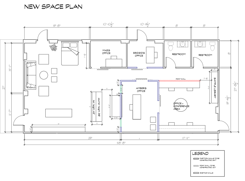 Amber Interiors - New Office Plan