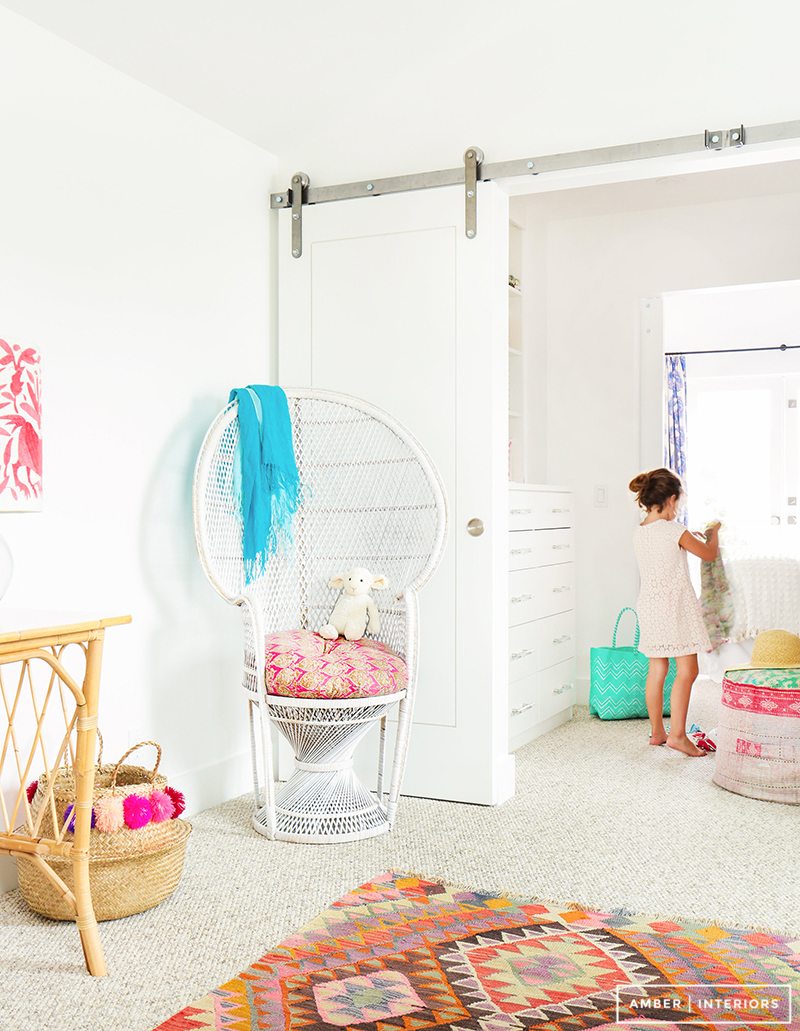 Amber Interiors - Tessa Neustadt - Client Sandy Castles Before and After - Girl's Rooms - 10