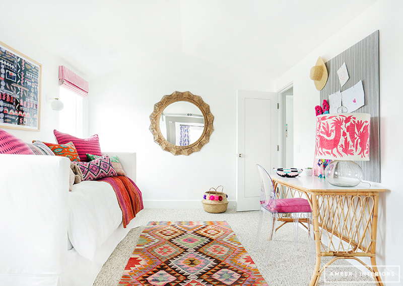 Amber Interiors - Tessa Neustadt - Client Sandy Castles Before and After - Girl's Rooms - 6