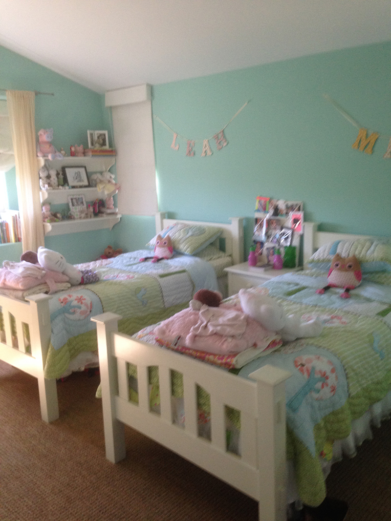 Client Sandy Castles Before - Girl's Rooms - 1