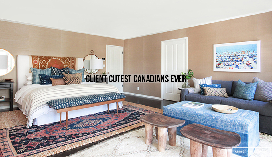 Amber Interiors Portfolio - Client Cutest Canadians Ever - Main