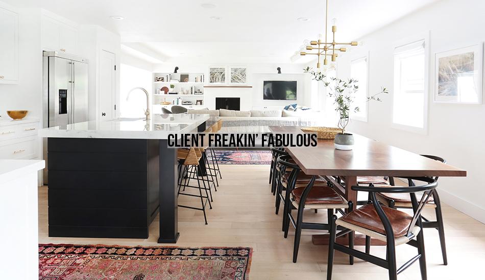 Amber Interiors Portfolio - Client Freakin Fabulous - Main