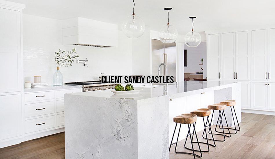 Amber Interiors Portfolio - Client Sandy Castles - Main