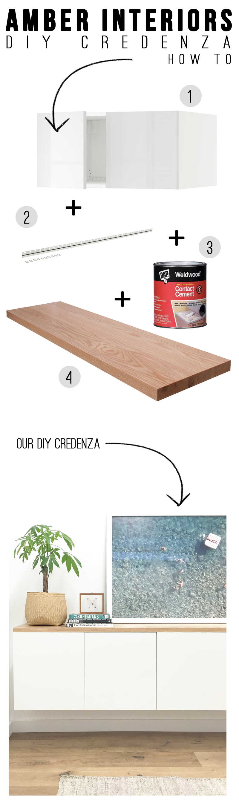 DIY: Credenza
