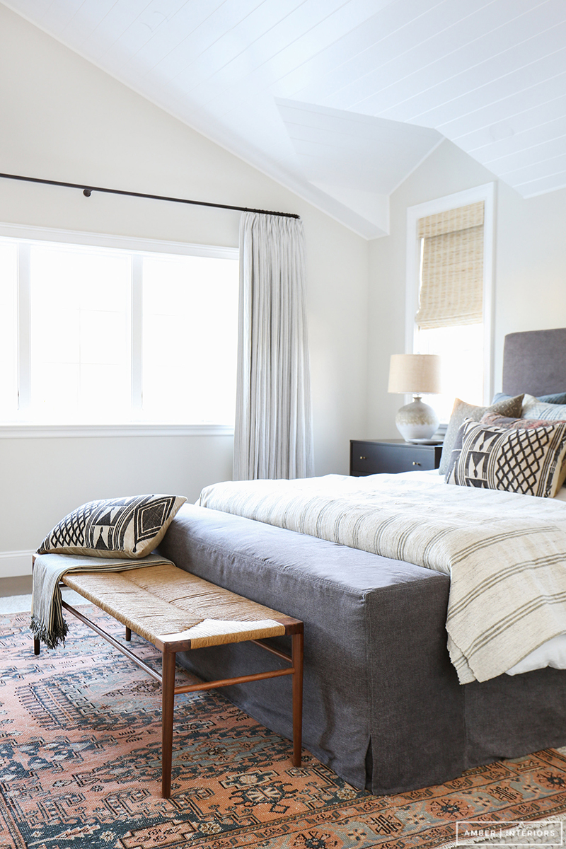 Clientcoolasacucumber reveal amber interiors bloglovin for Rug in bedroom
