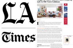 LA Times - OCTOBER 2015
