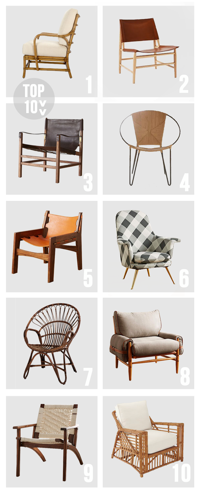 Top 10 - Accent Chairs