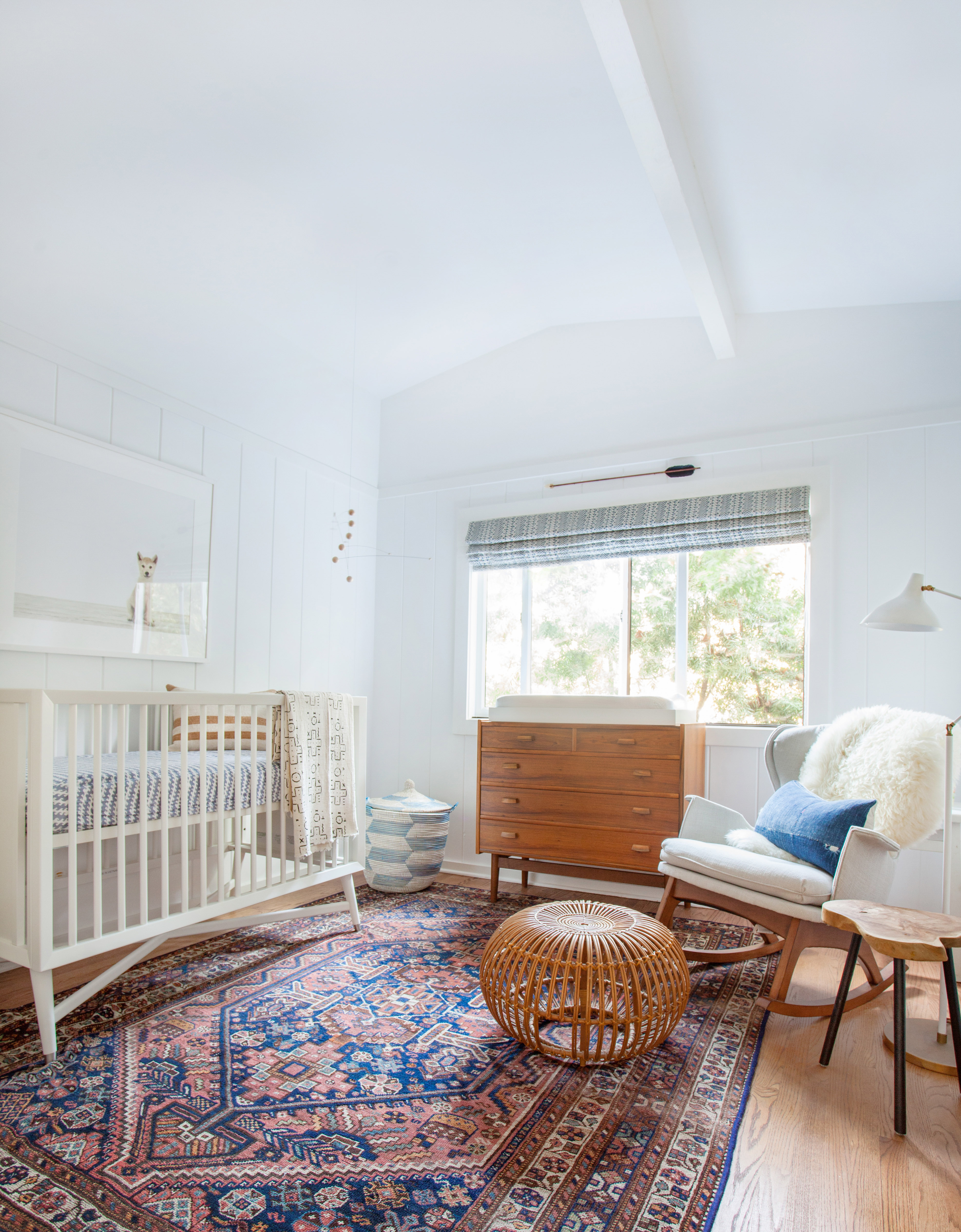 Bohemian Style Baby Nursery: Dr. Client Clients